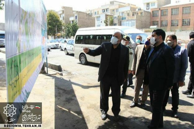 اولین بازدید شورای اسلامی ششم از منطقه ۱۸ انجام شد