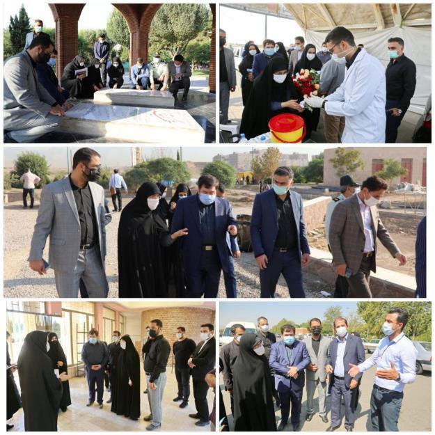 نخستین بازدید عضو شورای اسلامی شهر تهران از منطقه ۱۹