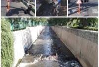 عملیات ویژه لایروبی و پاکسازی کانال های منطقه ۱۴ در آستانه فصل پائیز