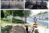 احداث حوضچه های جدید رسوبگیر منطقه ۱۴ در دستور کار قرار گرفت/ ساخت حوضچه رسوب گیر بزرگراه امام علی(ع) کلید خورد