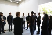 بازدید رئیس فدراسیون اسکواش از سالن اسکواش برج میلاد / سالن اسکواش برج میلاد یکی از بهترین سالن ها در کشور است
