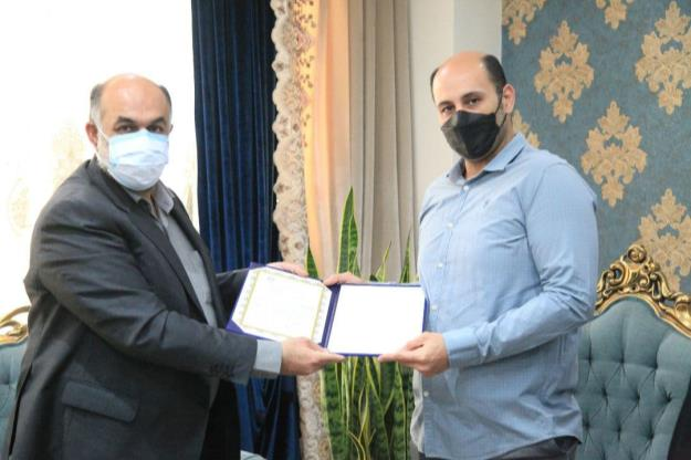 شهردار منطقه ۱۸ از قهرمان دارنده مدال طلای پارالمپیک امسال قدردانی کرد