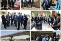 بازدید ۵ ساعته عضو شورای اسلامی شهر تهران از پروژه های عمرانی و توسعه محور منطقه ۱۹
