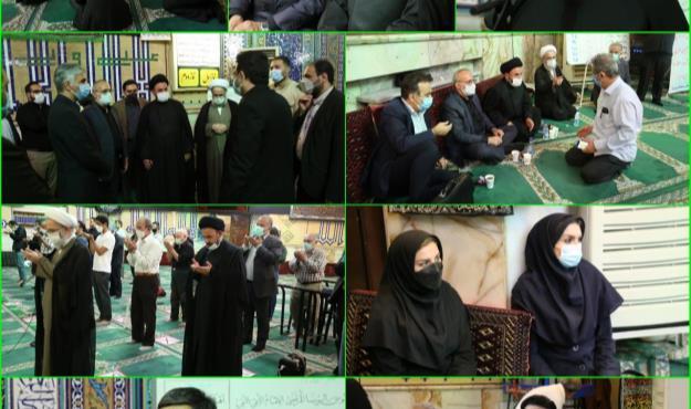 دیدار مردمی عضو شورای شهر تهران با اهالی محله امیرآباد تهران در منطقه۶