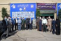 مرکز واکسیناسیون شهدای صابرین در محله دارآباد افتتاح شد
