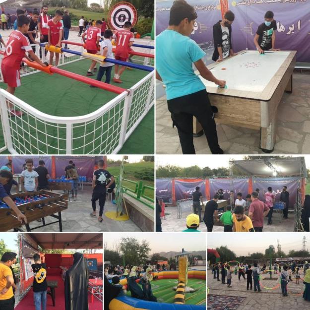 استقبال کم نظیر شهروندان تهرانی از جشنواره  تفریحی و ورزشی منطقه ۱۵