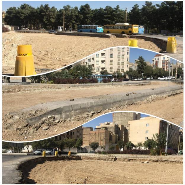 آغاز عملیات بهسازی پایانه اتوبوسرانی بهشت در منطقه۱۹