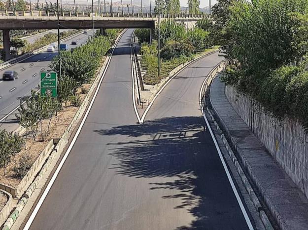 طرح ساماندهی و مرمت تابلوهای ترافیکی منطقه ۱۳
