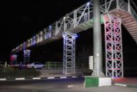 پل های عابر در شمال شرق پایتخت مناسب سازی شد.
