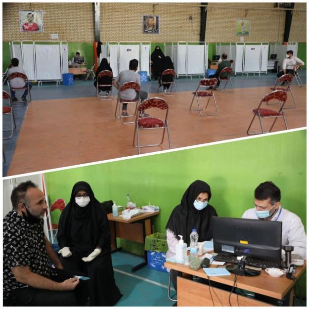 آغاز به کار پایگاه واکسیناسیون شهید کافی در منطقه۱۹