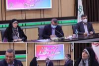 آیین تکریم و معارفه شهرداران قدیم وجدید شهرداری منطقه۸ برگزار شد