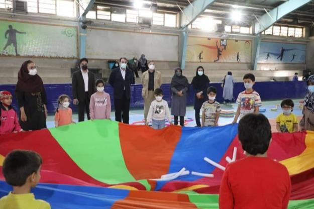 برگزاری کارگاه های مهارت های پایه حرکتی کودکان در منطقه ۱۳