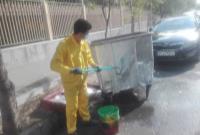 بیش از ۴۹۰۰ مخزن زباله در شمال شرق تهران نظافت شد.
